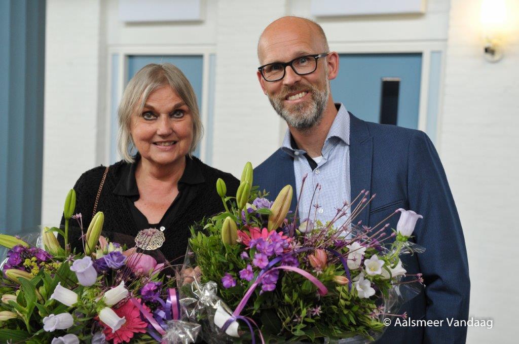 Organisator Janna van Zon en fotograaf Arjen Vos